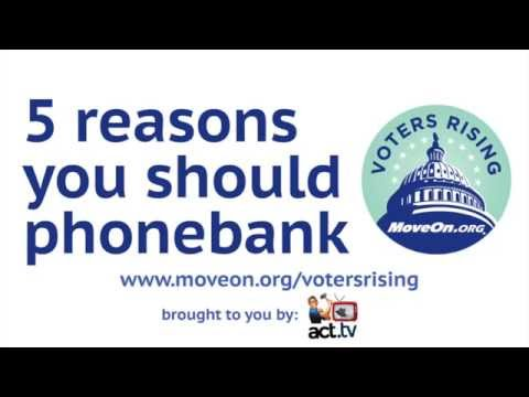5 reasons for you to phonebank