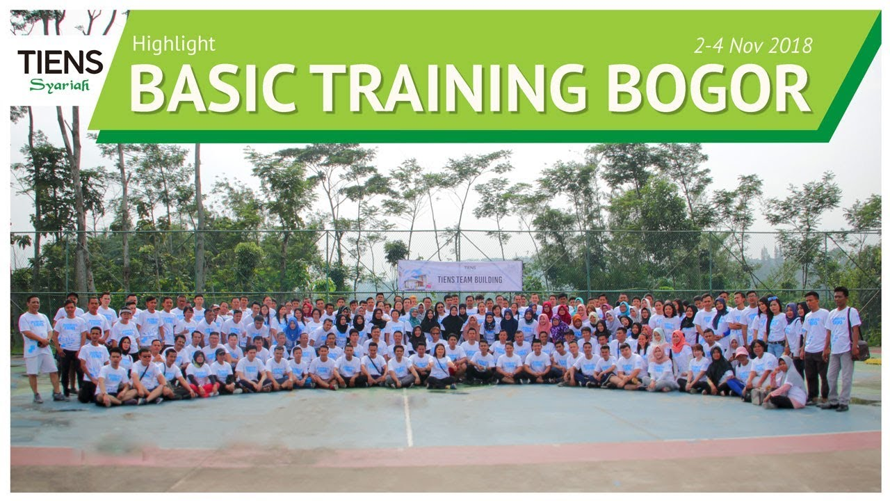 Highlight TIENS Basic Training Bogor 2-4 Nov 2018