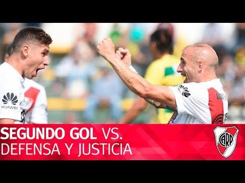 Gol de Javier Pinola vs. Defensa y Justicia
