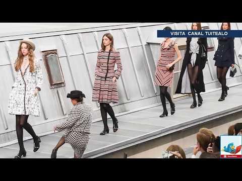Modelos de uñas - Youtuber se cuela a pasarela de Chanel y Gigi Hadid la saca