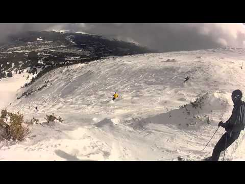 Breckenridge – Skiing Whales Tail to Peak 7 Bowl