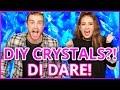 DIY CRYSTALS?! Di Dare w/ Courtney Randall n James Boyd