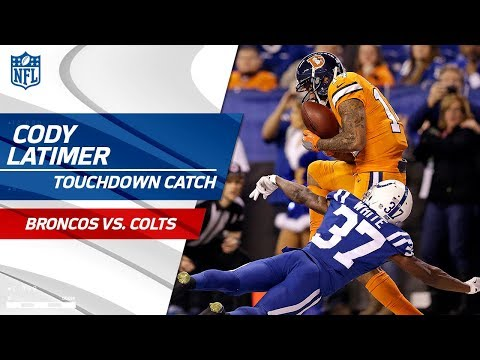 Video: Denver Takes the Lead w/ Osweiler's Perfect TD Strike to Latimer! | Broncos vs. Colts | NFL Wk 15