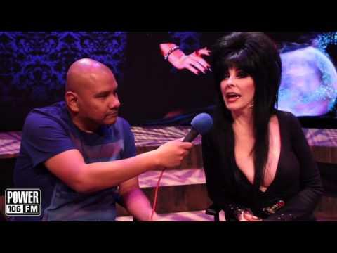 J Cruz sits down with Elvira