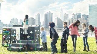 """あなたの夢を出力する""""夢のプリンター""""が話題!公園に設置されたプリンターに子供達が大はしゃぎ!"""