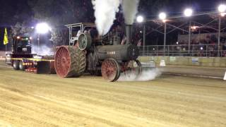 110HP Case Steam Tractor Pull Pinckneyville Illinois August 15 2014