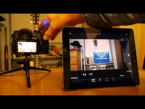 Panasonic Lumix GH3 – How to Tether via Wi-Fi to an iOS or Android Device