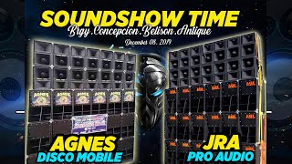 FRIENDLY SHOW OF AGNES DISCO MOBILE and JRA PRO AUDIO 2019