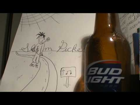 Bud LIght Superbowl Commercial Slim Pickens Daniel Johnston