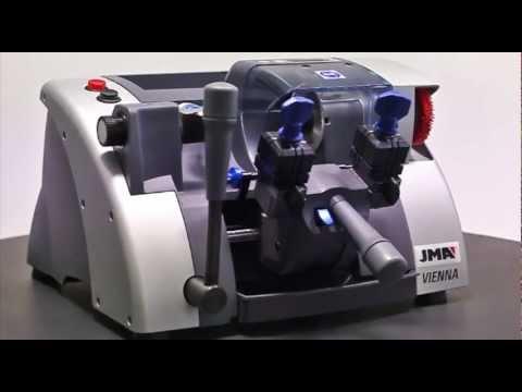 MAQUINAS PARA COPIAR LLAVES - La VIENNA es la nueva máquina duplicadora semi automática de JMA para llaves planas para cilindro, vehículo y llaves cruciformes, diseñada para los profesion...