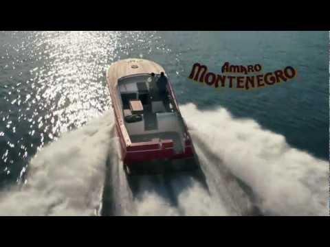 Spot Amaro Montenegro con immagini di Castellammare del Golfo