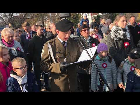 Wideo1: Uroczystości pod Pomnikiem Konstytucji 3 Maja i Odzyskania Niepodległości