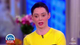Video Rose McGowan Talks Alleged Sexual Misconduct By Harvey Weinstein | The View MP3, 3GP, MP4, WEBM, AVI, FLV September 2018