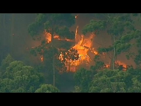 Αυστραλία: σκηνές πύρινης Αποκάλυψης