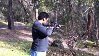 Hmong shooting M&P 15-22
