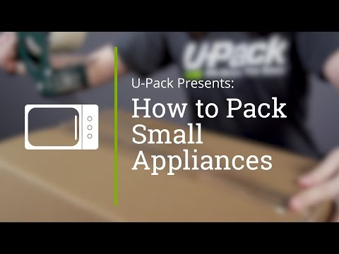 How to Pack Small Appliances