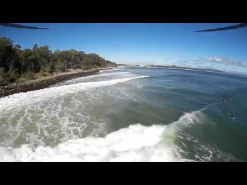 Noosa National Park East Coast Low 2nd May FPV Drone
