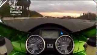 10. Kawasaki Ninja ZX-14 and Suzuki Hayabusa at top speed...! Must watch & Must share :) !!