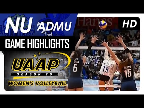 NU vs ADMU | Game Highlights | UAAP 79 WV | March 22, 2017 (видео)