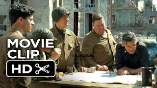 The Monuments Men Movie CLIP - Map To Siegan (2014) - John Goodman Movie HD