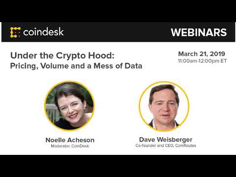Under the Crypto Hood: Pricing, Volume and a Mess of Data video