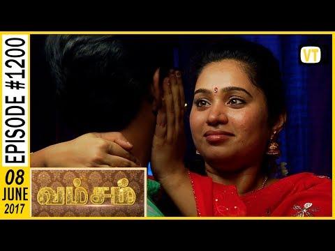 Vamsam - வம்சம் | Tamil Serial | Sun TV | Epi 1200 | 08/06/2017