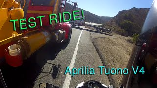 5. Test Ride: 2015 Aprilia Tuono V4 R APRC ABS