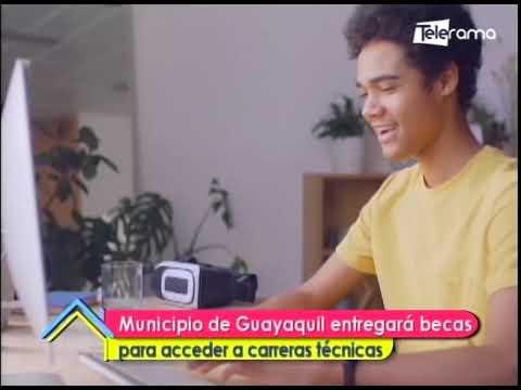 Municipio de Guayaquil entregará becas para acceder a carreras técnicas