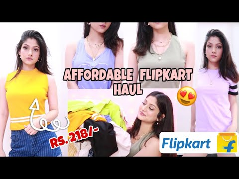 😍 Starting at Rs. 218 Only | HUGE FLIPKART SALE HAUL | Affordable clothing hauls | Manasi Mau