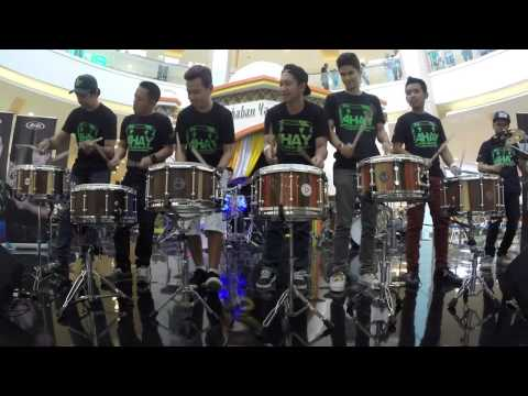 AHAY DRUMS- Sticking with Sukabumi drummer