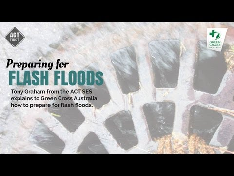 Preparing for flash floods
