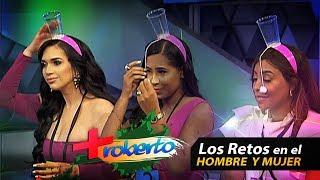 """Otro Conflicto entre Amelia y Yelidá Mejía – """"Retos en el Hombre Y Mujer"""" Mas Roberto"""