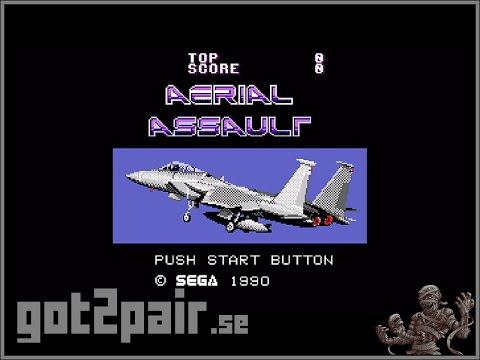 Aerial Assault - Master System