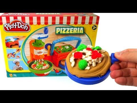 surprise - Play Doh Pizzeria Playset pizza playdough by Lababymusica http://www.youtube.com/user/UnboxingSurpriseEgg Unboxing Surprise eggs: Kinder Surprise, Mickey mou...