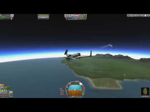 Scott Manley shows off New Atmospheric Effects In Kerbal Space Program it's pretty interesting