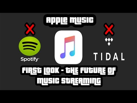 Apple Music - How to Install Apple Music / First Look - Spotify Killer?!