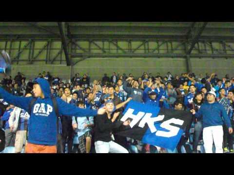 Huachipato vs Fluminense, Los Acereros cantando, Libertadores - Los Acereros - Huachipato
