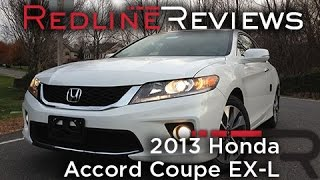 2013 Honda Accord Coupe EX-L Review, Walkaround, Exhaust,&Test Drive