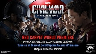 Nonton Marvel S Captain America  Civil War Red Carpet Premiere Film Subtitle Indonesia Streaming Movie Download