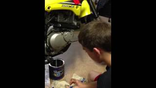 9. How to Change the Oil on a Dirt Bike