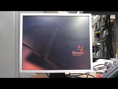нет изображения белый экран в ноутбуке видео
