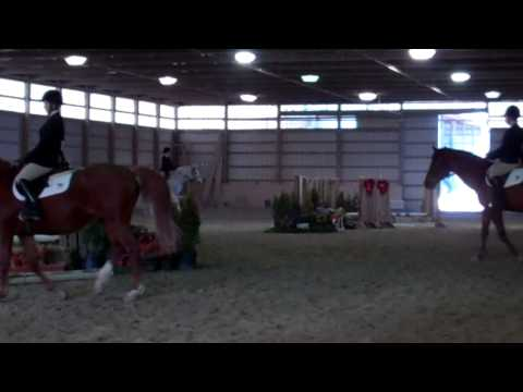 Hannah Woodson's Winning Ride in Advanced Walk Trot Canter - 2/23/14