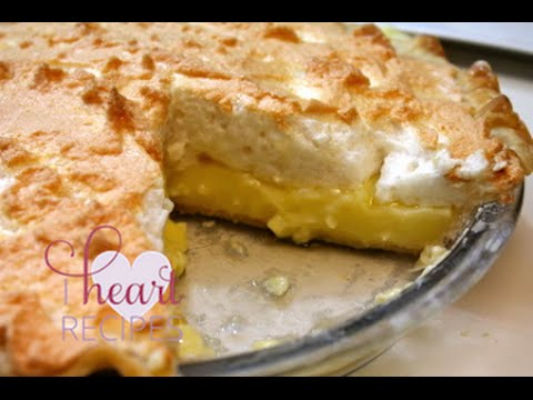 Lemon Meringue Pie Recipe – I Heart Recipes