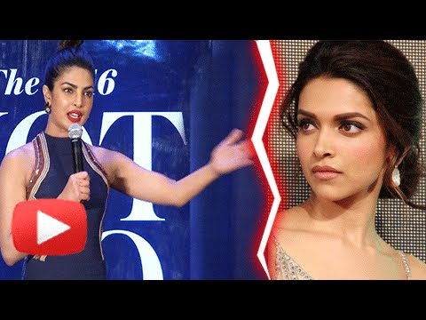 Priyanka Chopra NOT INSECURE Of Deepika Padukone  