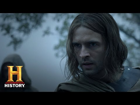 Knightfall: Prince Louis Hunts Landry Down (Season 2, Episode 5) | History