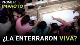 Gritos dentro de la tumba de Nelsy Pérez, sembraron la esperanza de comunidad que aseguraron que estaba viva. Primer...