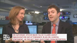 NewsHour's politics team breaks down Sean Spicer's press briefing