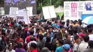 Iglesia members continue protest vs De Lima