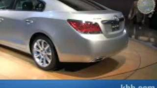 2010 Buick LaCrosse Auto Show Video - Kelley Blue Book