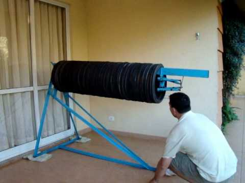 Reciclagem de pneus (fábrica de tubos de drenagem).wmv